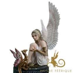 """Statue Fée Géante """"La promesse"""""""