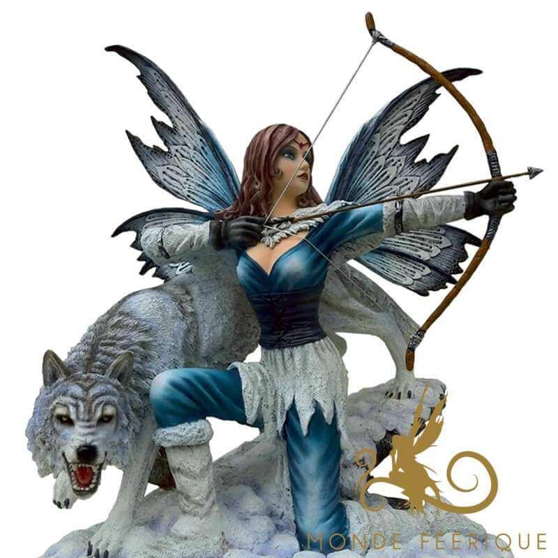 """Figurine Fée Géante """"La Combattante"""" -- 46cm"""