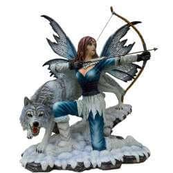 """Figurine Fée Géante """"La Combattante"""""""