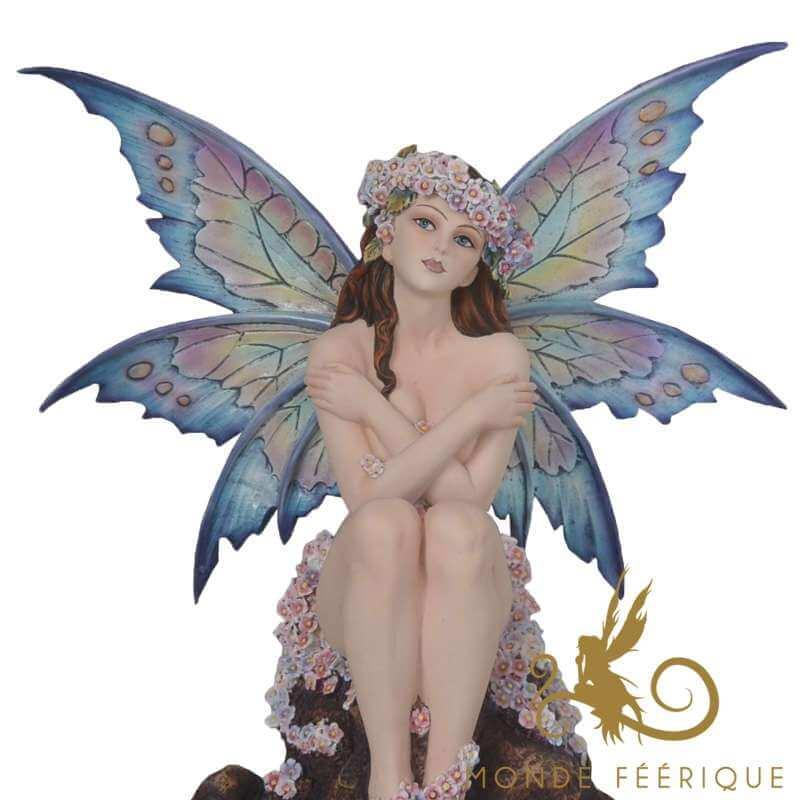 """Grande statue Fée """" La joie de Vivre"""" -- 38cm"""