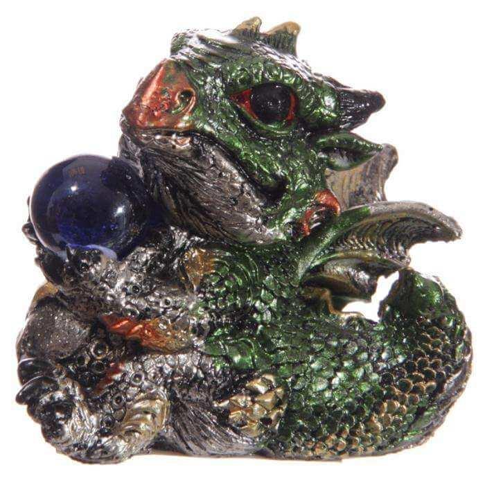 "Figurine Dragon Cristal ""Kiwi"""