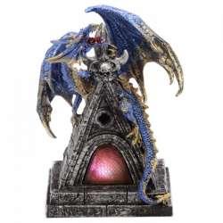 Figurine Dragon Lumineux Mystik 19cm