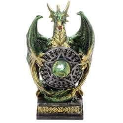 """Statuette Dragon Lumineux """"Grands Pouvoirs"""""""