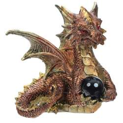 "Figurine de Dragon ""Cristal Power"""
