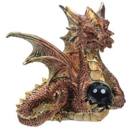 """Figurine de Dragon """"Cristal Power"""""""