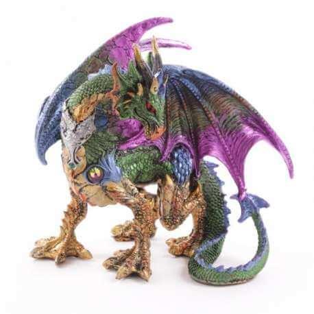 "Grande Figurine Dragon 25cm ""La Confiance"""