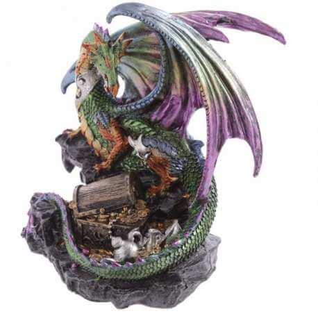 """Grande Statue Dragon """"Le trésor des Forces Darks"""""""