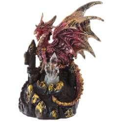 """Statuette Dragon Lumineux """"Grotte des Pierres Précieuses"""""""