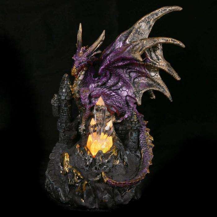 "Figurine Dragon Lumineux ""Oeil de la Lumière"""