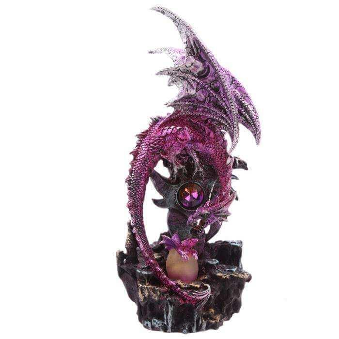Grande Figurine Dragon Epée du Bien