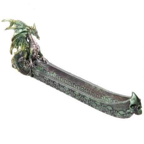 Porte Encens Dragon Fumée des Forces