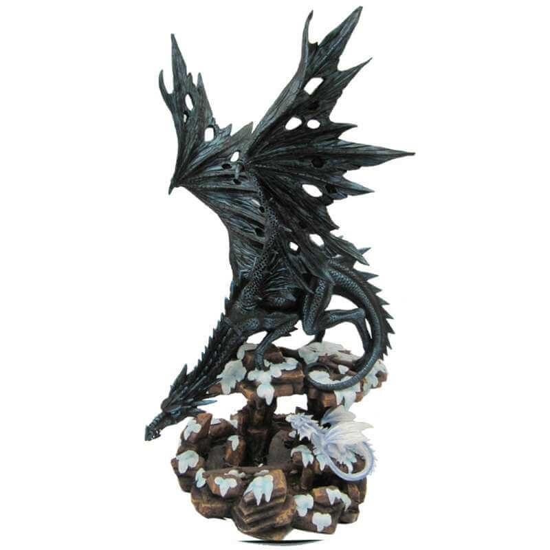 Statue Dragon des Cimes 47cm