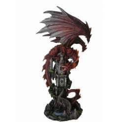 """Statue Dragon Géant """"Le Foyer du Monde"""""""