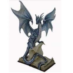 """Statuette Dragon Géant """"Force de la Connaissance"""" 45cm"""