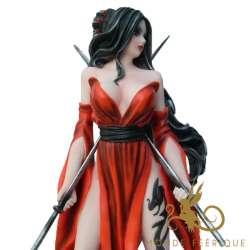"""Figurine Fée """" Gardienne du Temple"""" -- 24cm"""