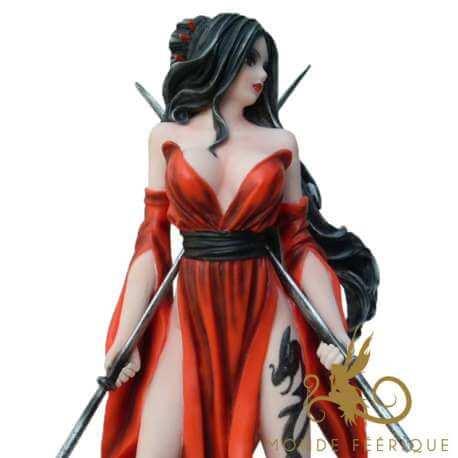 """Figurine Fée """" Gardienne du Temple"""""""