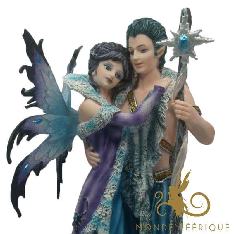 Elfe et Statuette Fée Dansant -- 26cm