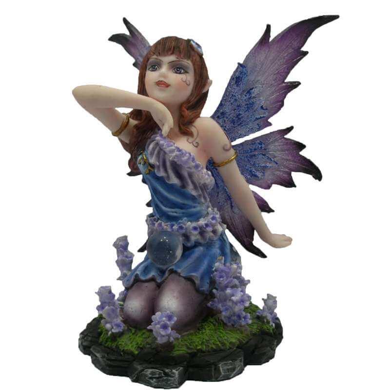 """Statuette Fée """"Magie des Mages""""-- 10cm"""