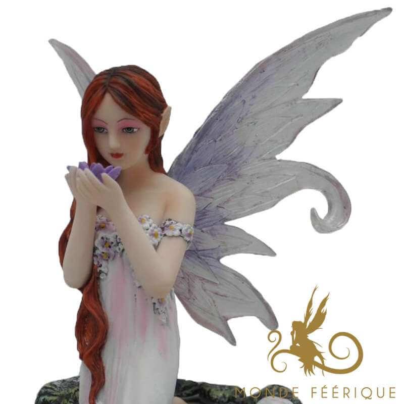 Figurine Fée Sirène des Etangs -- 14x16cm