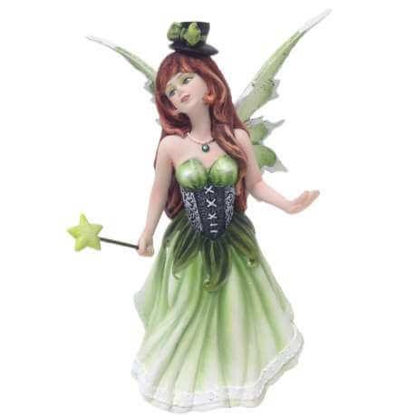 Figurine Fée vert figurines de fees verte