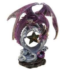 Statuette Dragon 20 cm avec Etoiles