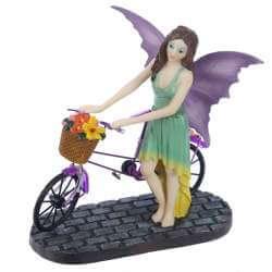 Figurine Fée Vélo