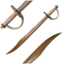 Epée en bois Décorative