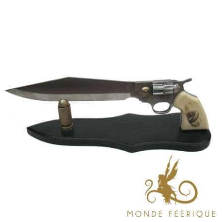 Couteau Pistolet Marbrée