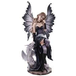 Statuette Fee Géante Dark Dragons 56 cm